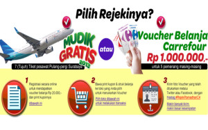 Info Mudik Gratis Carrefour