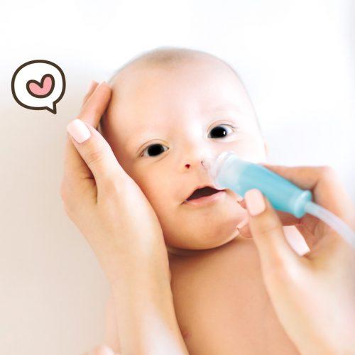 Cara Mudah Dan Aman Membersihkan Hidung Bayi
